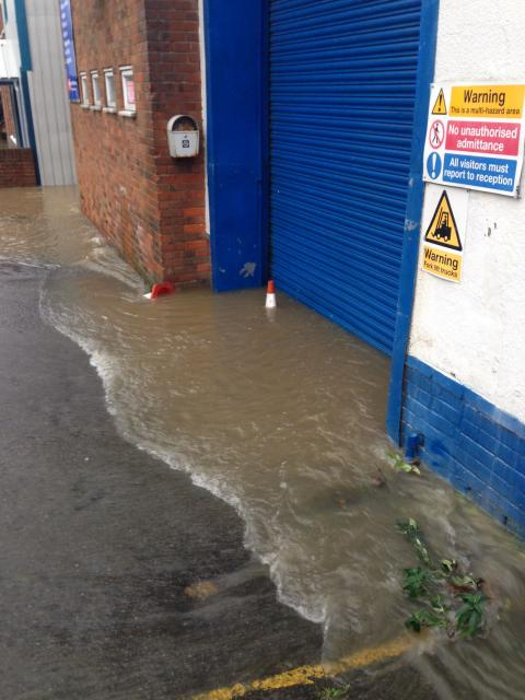 Lessons learned from a flood in a UK workshop