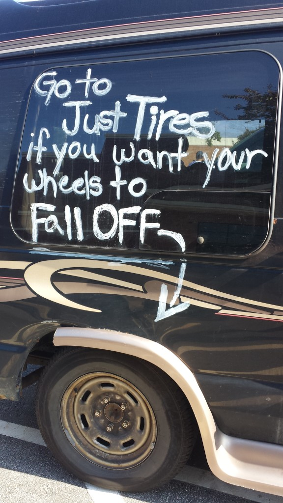 Funny Car Signs