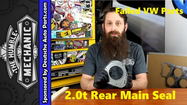 How The VW 2.0t TSI Rear Main Seal Fails ~VIDEO