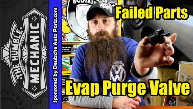 How The VW Evap Purge Valve N80 Fails ~ Video