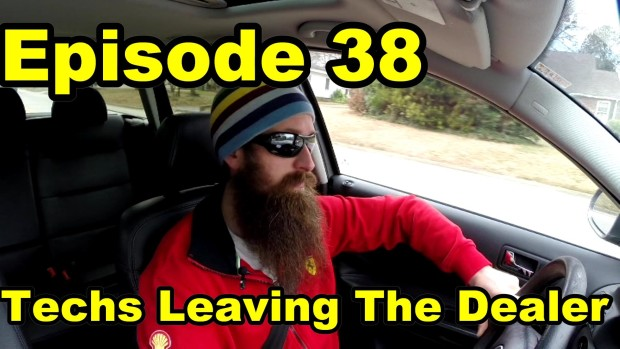 Thoughts on Techs Moving Away From Dealerships ~ Episode 38