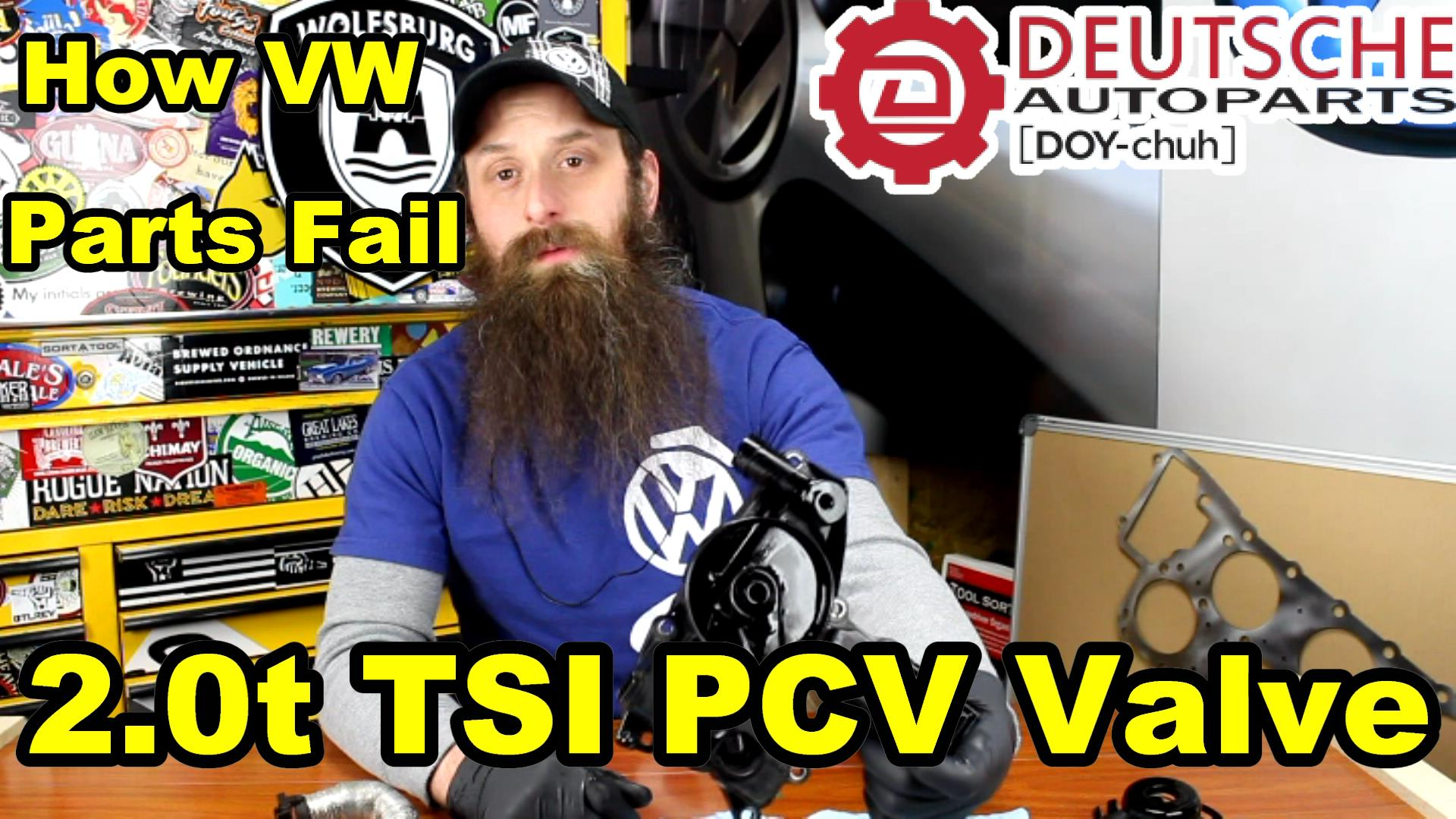 How The Vw 20t Tsi Pcv Valve Fails Video Humble Mechanic 2 0t Engine Diagram