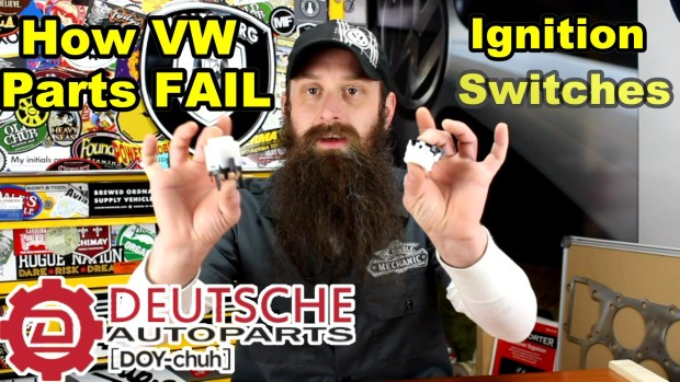 How VW Ignition Switches Fail ~ Video