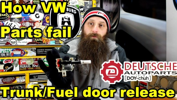 How The VW Trunk and Fuel Door Release Motor Fails ~ Video