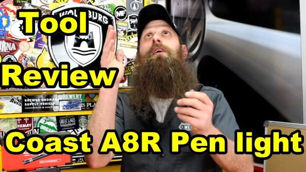 Coast A8R Rechargeable Penlight Review ~ Video