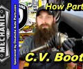How VW C.V. Boots Fails ~ Video