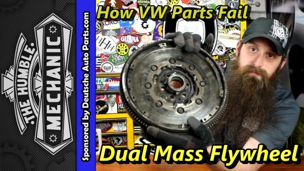 How VW Dual Mass Flywheels Fail ~ Video