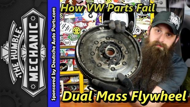 How VW Dual Mass Flywheels Fail ~ Video