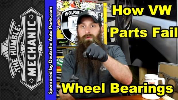How VW Wheel Bearings Fail ~ Video