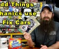 5 Odd Things Mechanics Use To Fix Cars ~ Video