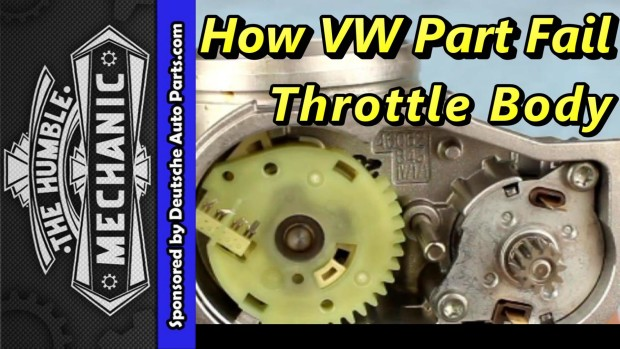 How A VW Throttle Body Failed with VAG-COM Demo ~ Video