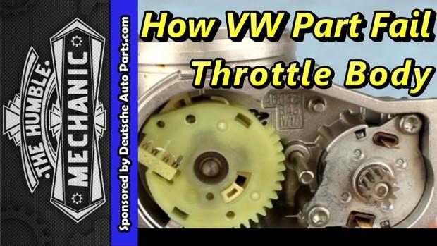 How A VW Throttle Body Failed with VAG-COM Demo ~ Video
