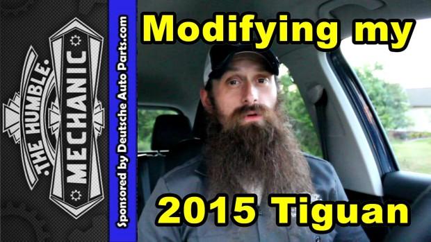 Modifying My 2015 VW Tiguan ~ Video