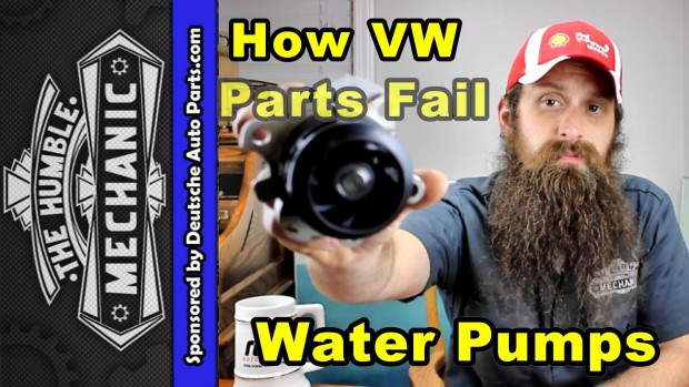 How VW Water Pumps Fail ~ Video