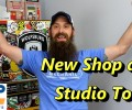 Touring The New Shop and Studio ~ Video