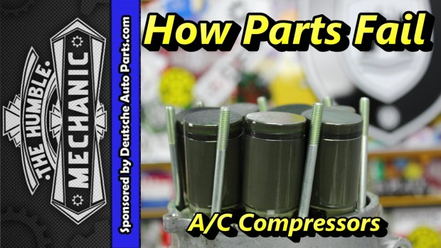 How VW A/C Compressors Fail ~ Video