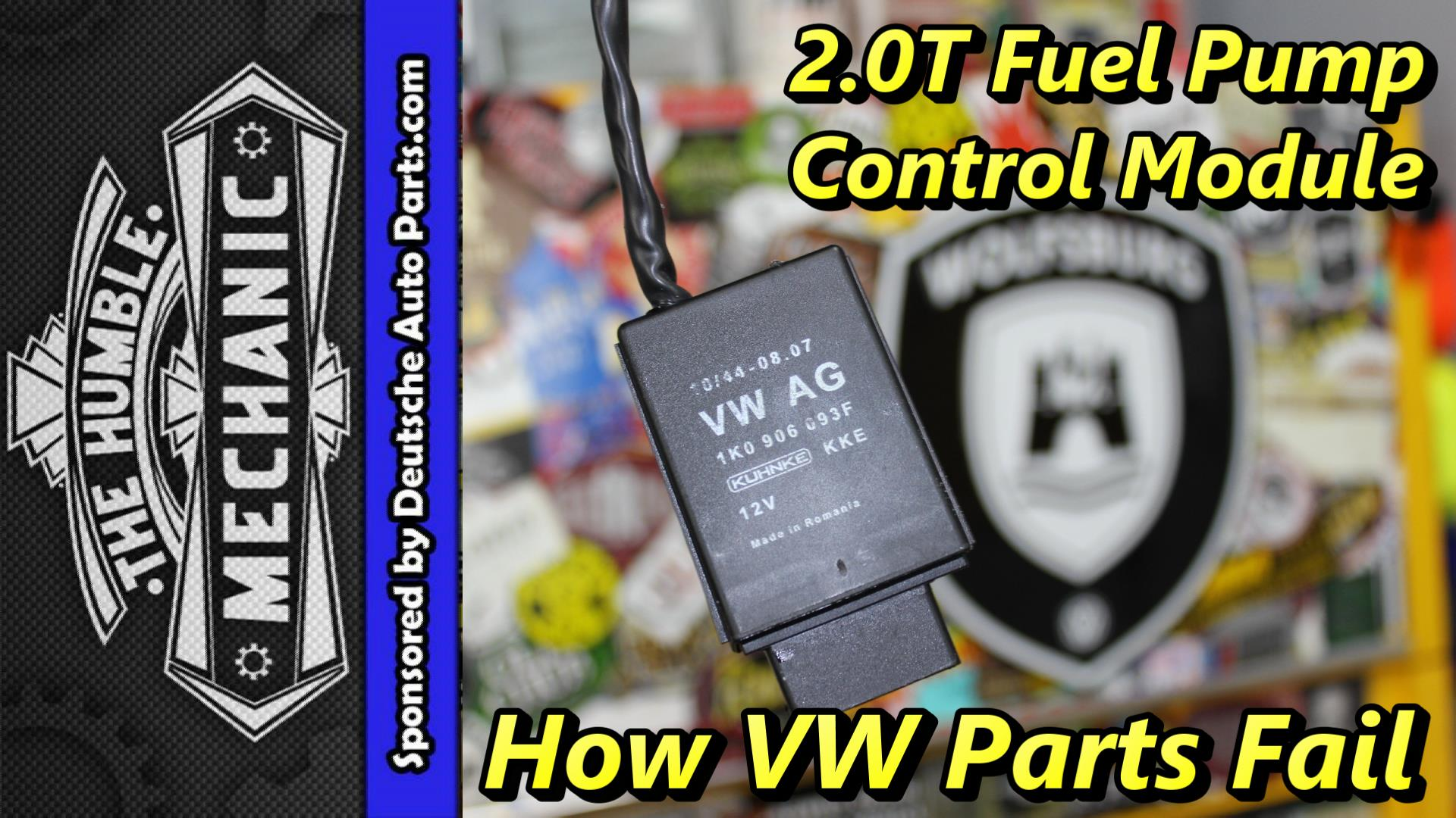 How Vw Parts Fail 20t Fuel Pump Modules Humble Mechanic Mk1vr6wiringdiagramjpg