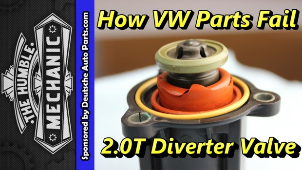How The 2.0T Diverter Valve Fails ~ Video