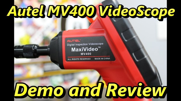 Autel MV400 Video Scope Review and Demo~ Video