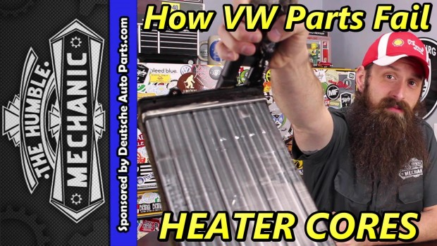 How VW Parts Fail ~ Heater Cores