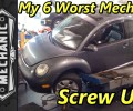 My 6 Biggest Screw Ups As A Mechanic ~ Podcast Episode 118
