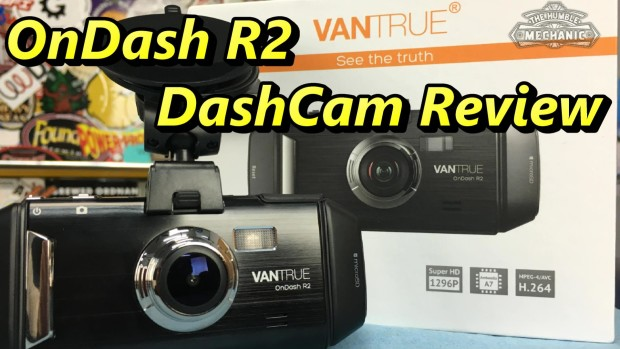DashCam Review ~ VanTrue Ondash R2