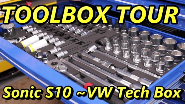 Sonic S10 Toolbox Tour