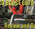 NOCO Genius Boost HD GB70 Jump Starter ~ Review