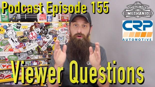 Viewer Automotive Questions ~ Podcast Episode 155