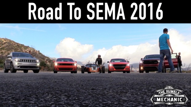 The Road To SEMA 2016