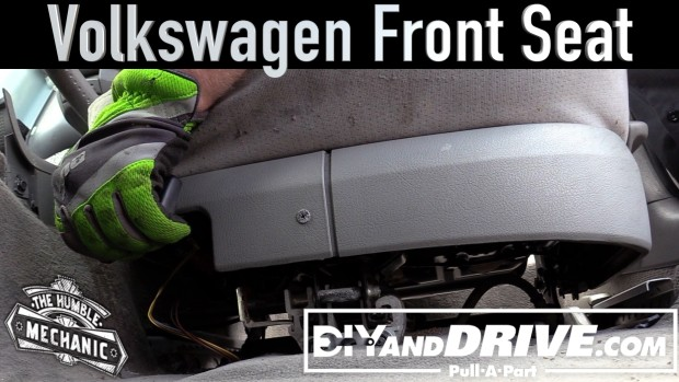 How To Remove A VW Front Seat ~ Salvage Yard Tips