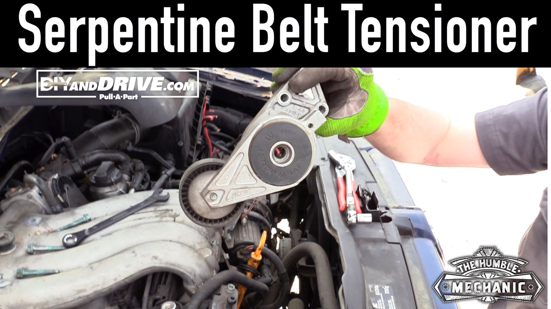 How To Remove A Vw Serpentine Belt Tensioner Salvage