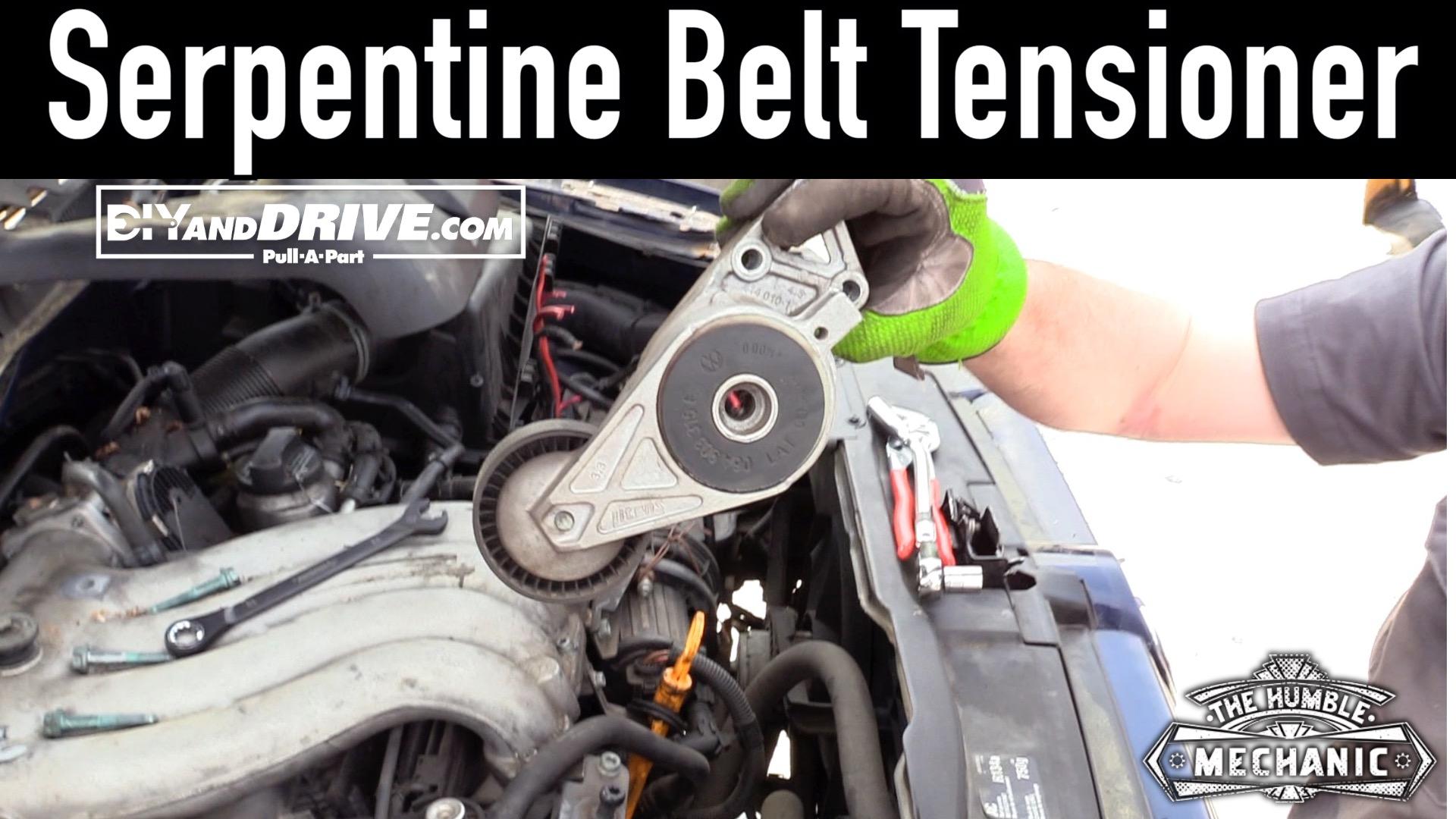 Serp Belt Tens on 2005 Vw Passat Engine Diagram