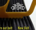 How To Properly Check A Serpentine Belt