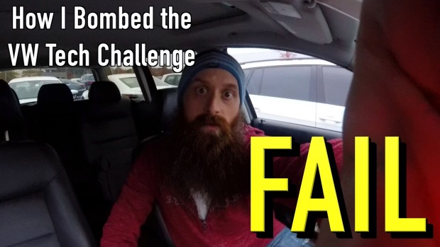 How I FAILED The VW Tech Challenge