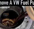 How To Remove A VW Fuel Pump ~ Salvage Yard Tips
