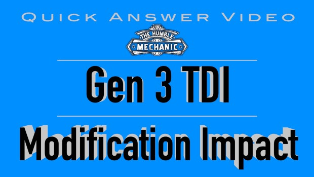 How The TDI Modification will Impact The Car