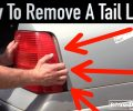 How To Remove a VW Tail Light ~ Salvage Yard Tips