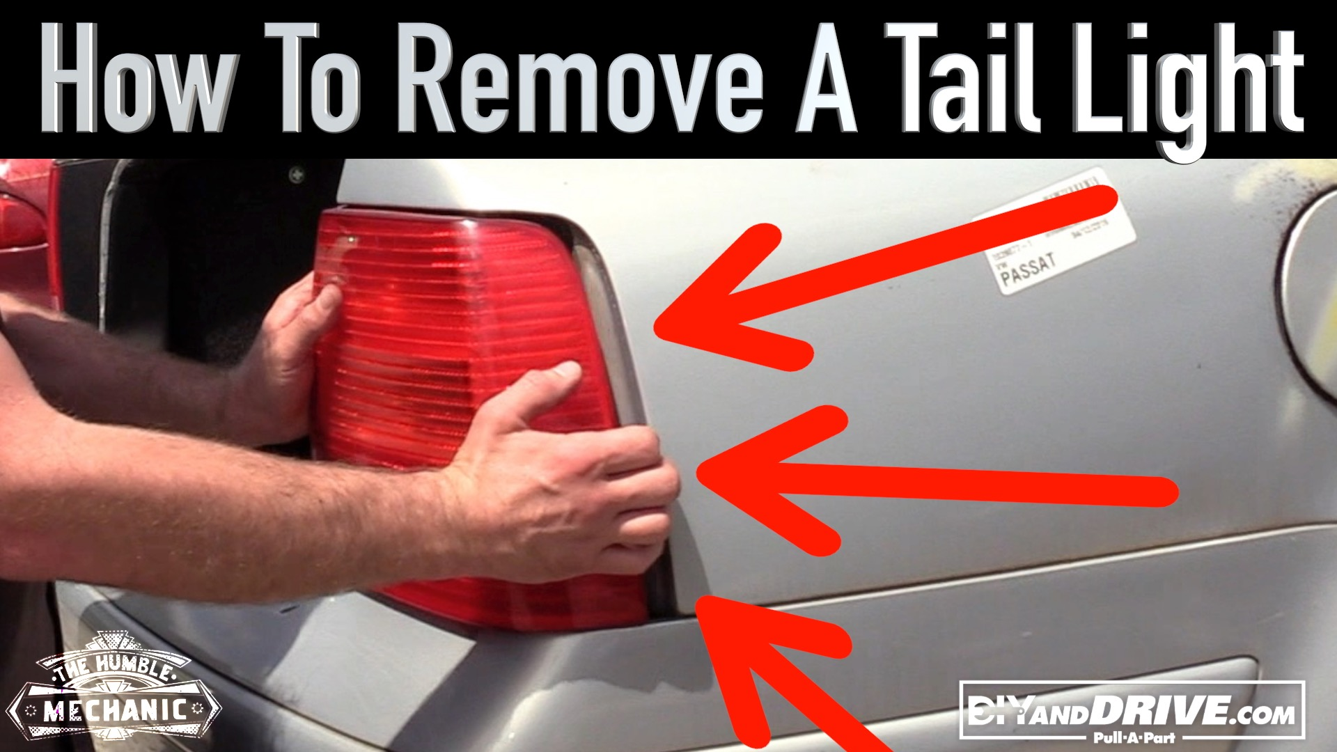 How To Remove A Vw Tail Light Salvage Yard Tips