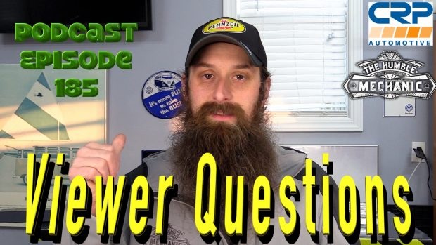 Viewer Automotive Questions ~ Podcast Episode 185