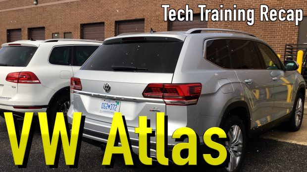 Recap of the VW Atlas Tech Training