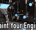How To Paint Your Engine