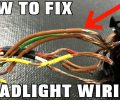 How To Replace Headlight Wiring