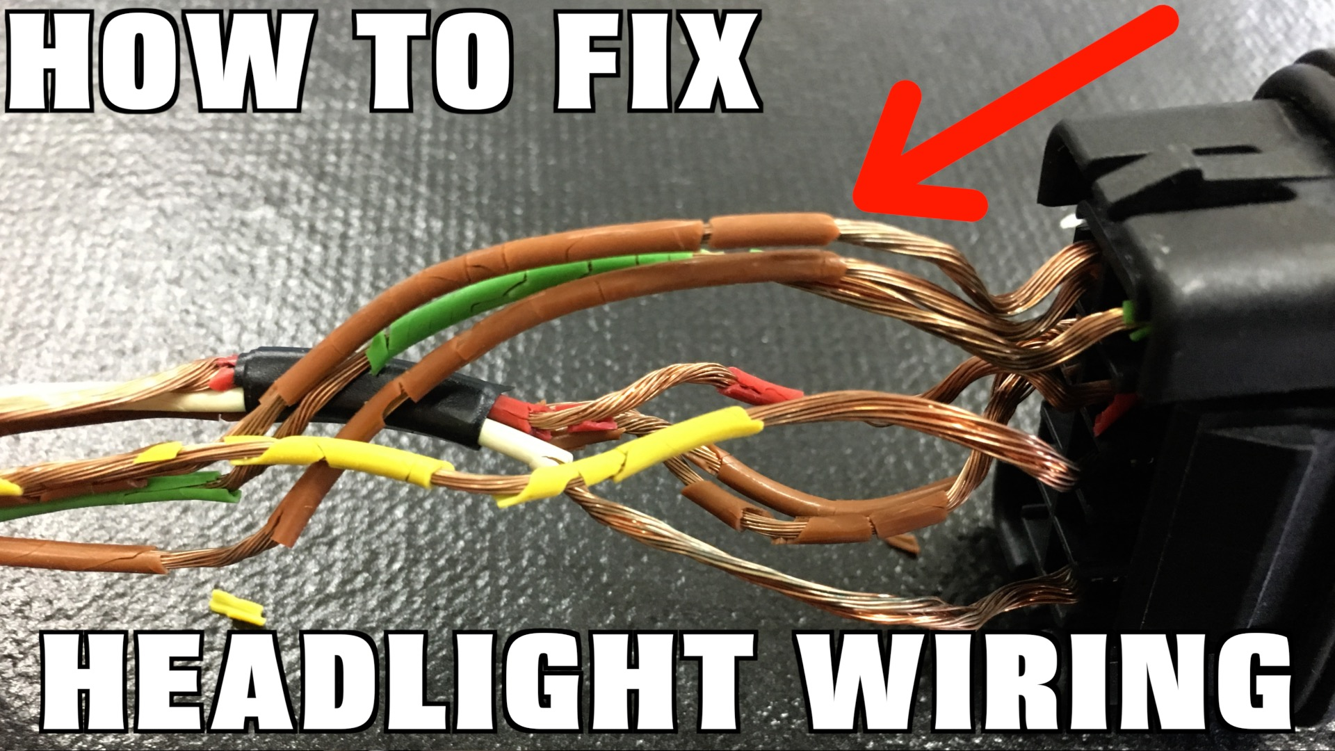 How To Replace Headlight Wiring Humble Mechanic