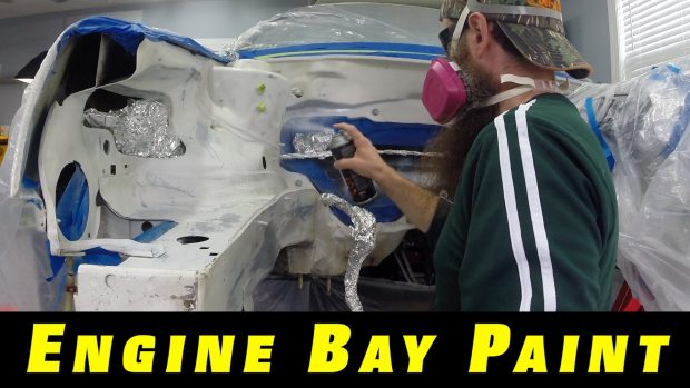 Rattle Can Paint Your Engine Bay