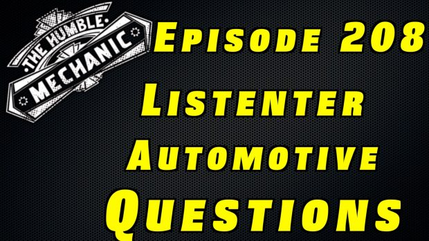Viewer Car Questions ~ Audio Podcast Episode 208