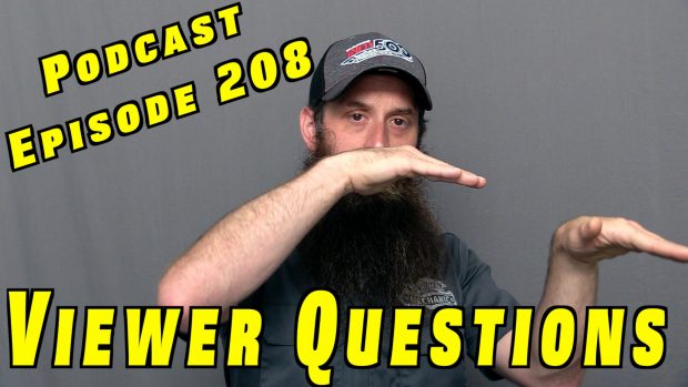 Viewer Car Questions ~ Podcast Episode 208
