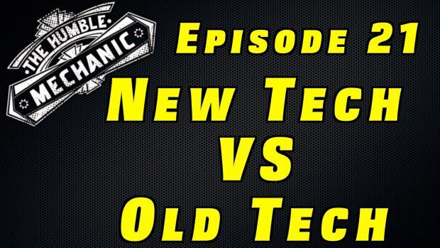 Old School vs New School Car Technology ~ Audio Podcast Episode 21