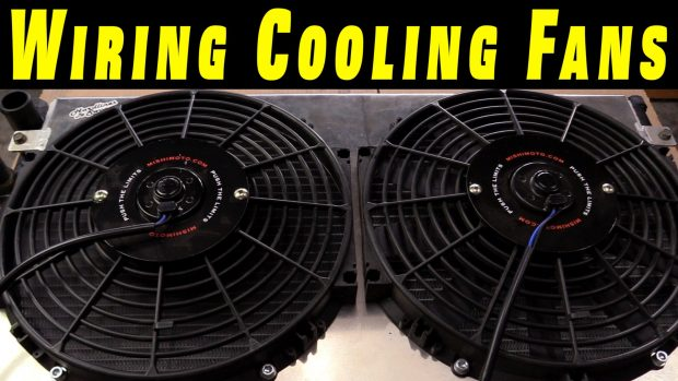 How To Wire Electric Cooling Fans with Crimp Connections