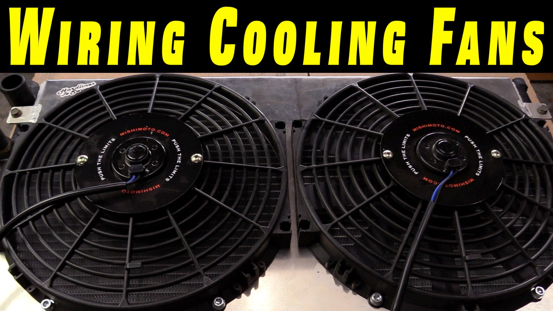 How To Wire Electric Cooling Fans With Crimp Connections Humble Fan Wiring Mechanic